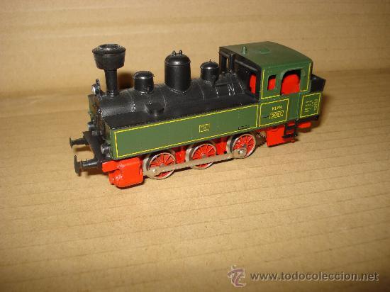 Trenes Escala: Locomotora-Tender Tipo Landerbhan Ref. 3087 de MARKLIN en *H0* Analogica C. Alterna. Año 1992 . - Foto 8 - 27367799