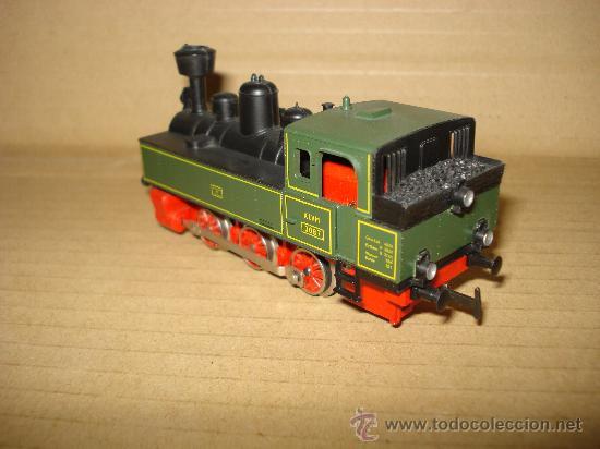 Trenes Escala: Locomotora-Tender Tipo Landerbhan Ref. 3087 de MARKLIN en *H0* Analogica C. Alterna. Año 1992 . - Foto 7 - 27367799