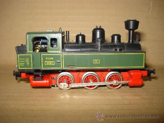 Trenes Escala: Locomotora-Tender Tipo Landerbhan Ref. 3087 de MARKLIN en *H0* Analogica C. Alterna. Año 1992 . - Foto 5 - 27367799
