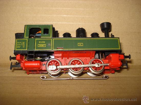 Trenes Escala: Locomotora-Tender Tipo Landerbhan Ref. 3087 de MARKLIN en *H0* Analogica C. Alterna. Año 1992 . - Foto 9 - 27367799