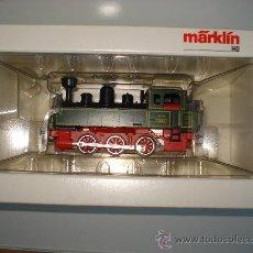 Trenes Escala: LOCOMOTORA-TENDER TIPO LANDERBHAN REF. 3087 DE MARKLIN EN *H0* ANALOGICA C. ALTERNA. AÑO 1992 .. Lote 27367799