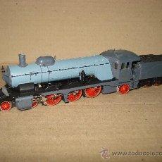 Trenes Escala: LOCOMOTORA A VAPOR CON TENDER CLASE C REF. 3311 DE MARKLIN EN *H0* ANALOGICA. C. ALTERNA. 1992 .. Lote 27367814