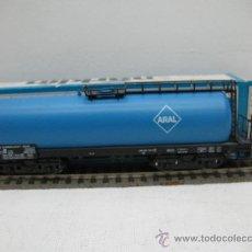 Trenes Escala: MARKLIN H0 REF: 4643 - VAGON CISTERNA (ARAL) - DB - ESCALA H0. Lote 27793782