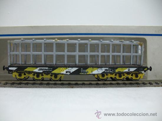 MARKLIN H0 REF: 4868 - VAGON DE MERCANCIAS PLATAFORMA CON JAULA Y ROCAS - ÖBB - ESCALA H0 (Juguetes - Trenes a Escala - Marklin H0)