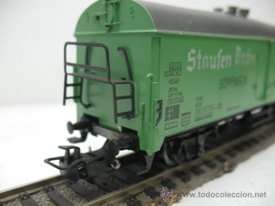 Trenes Escala: MARKLIN -VAGON DE MERCANCIAS STAUFEN BRAU -ESCALA H0- - Foto 5 - 28918823
