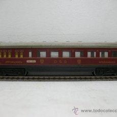Trenes Escala: MARKLIN 346/2 -VAGON SPEISEWAGEN DSG (GRANATE) -ESCALA H0-. Lote 29035538