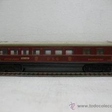 Trenes Escala: MARKLIN 346/2 -VAGON SPEISEWAGEN DSG (GRANATE) -ESCALA H0-. Lote 29035944