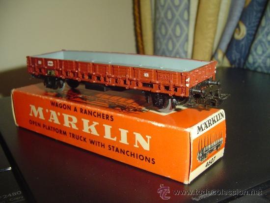 MARKLIN. ANTIGUO VAGÓN 4607. SIN TELEROS (Juguetes - Trenes a Escala - Marklin H0)