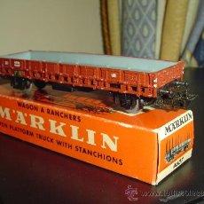 Trenes Escala: MARKLIN. ANTIGUO VAGÓN 4607. SIN TELEROS. Lote 31226013
