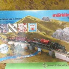 Trenes Escala: MARKLIN REF. 2965. LOCOMOTORA MARKLIN HO VAPOR 89006. FUNCIONA. Lote 152729781