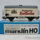 Trenes Escala: MARKLIN REF:4439 - VAGÓN DE MERCANCÍAS CERRADO GTUTTGARTER - ESCALA H0. Lote 32317201