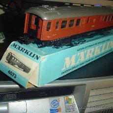 Trenes Escala: MARKLIN. VAGÓN SUECO 4073.NUEVO.. Lote 32973776