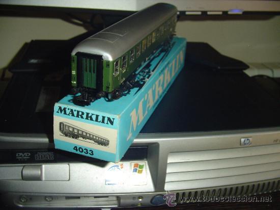 MARKLIN. VAGÓN PASAJEROS 4033 (Juguetes - Trenes a Escala - Marklin H0)