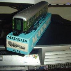 Trenes Escala: MARKLIN. VAGÓN PASAJEROS 4033. Lote 32576911