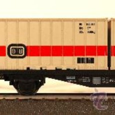 Trenes Escala: MARKLIN VAGÓN CONTENEDOR DB 4664. Lote 32906823