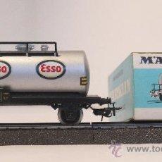 Trenes Escala: MARKLIN VAGÓN TANQUE ESSO 4501. Lote 33461867
