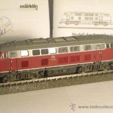 Trenes Escala: MARKLIN DIGITAL MFX SONIDO ESCALA H0 1/87 LOCOMOTORA DIESEL V160 016 DEL STARTSET 29825. Lote 34268230