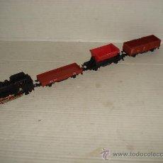 Trenes Escala: COMPOSICIÓN LOCOMOTORA-TENDER DB 89 + 3 VAGONES EN ESCALA *H0* DE MARKLIN NUEVOS .. Lote 58609256