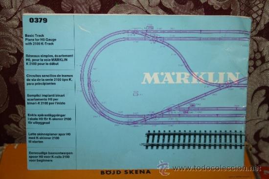 Trenes Escala: IMPRESIONANTE LOTE DE MARKLIN - CON 9 LOCOMOTORAS, 28 VAGONES, VÍAS Y MANUALES - Foto 66 - 163049145