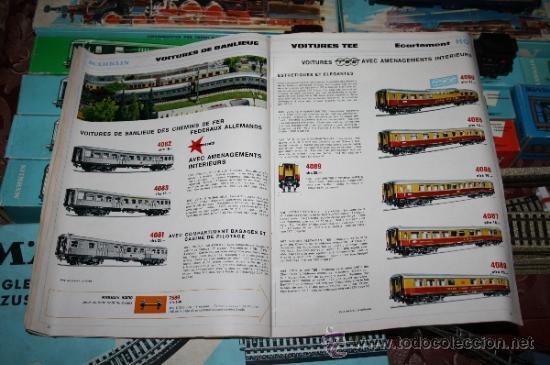 Trenes Escala: IMPRESIONANTE LOTE DE MARKLIN - CON 9 LOCOMOTORAS, 28 VAGONES, VÍAS Y MANUALES - Foto 64 - 163049145