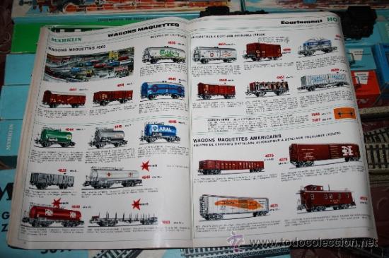 Trenes Escala: IMPRESIONANTE LOTE DE MARKLIN - CON 9 LOCOMOTORAS, 28 VAGONES, VÍAS Y MANUALES - Foto 65 - 163049145