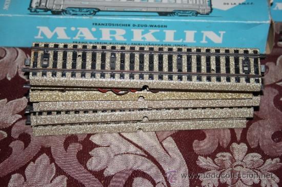 Trenes Escala: IMPRESIONANTE LOTE DE MARKLIN - CON 9 LOCOMOTORAS, 28 VAGONES, VÍAS Y MANUALES - Foto 59 - 163049145