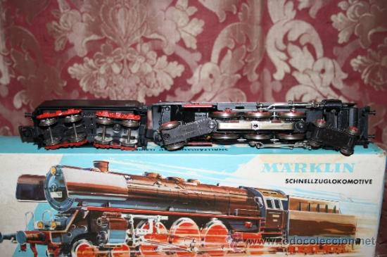 Trenes Escala: IMPRESIONANTE LOTE DE MARKLIN - CON 9 LOCOMOTORAS, 28 VAGONES, VÍAS Y MANUALES - Foto 5 - 163049145