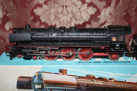 Trenes Escala: IMPRESIONANTE LOTE DE MARKLIN - CON 9 LOCOMOTORAS, 28 VAGONES, VÍAS Y MANUALES - Foto 6 - 163049145
