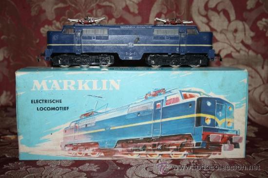 Trenes Escala: IMPRESIONANTE LOTE DE MARKLIN - CON 9 LOCOMOTORAS, 28 VAGONES, VÍAS Y MANUALES - Foto 8 - 163049145