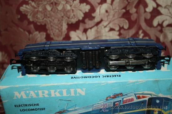 Trenes Escala: IMPRESIONANTE LOTE DE MARKLIN - CON 9 LOCOMOTORAS, 28 VAGONES, VÍAS Y MANUALES - Foto 12 - 163049145