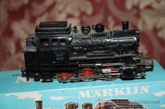 Trenes Escala: IMPRESIONANTE LOTE DE MARKLIN - CON 9 LOCOMOTORAS, 28 VAGONES, VÍAS Y MANUALES - Foto 15 - 163049145