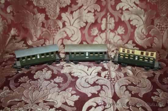Trenes Escala: IMPRESIONANTE LOTE DE MARKLIN - CON 9 LOCOMOTORAS, 28 VAGONES, VÍAS Y MANUALES - Foto 43 - 163049145