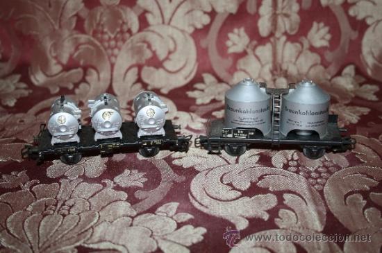 Trenes Escala: IMPRESIONANTE LOTE DE MARKLIN - CON 9 LOCOMOTORAS, 28 VAGONES, VÍAS Y MANUALES - Foto 49 - 163049145