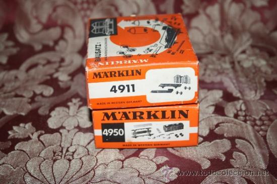 Trenes Escala: IMPRESIONANTE LOTE DE MARKLIN - CON 9 LOCOMOTORAS, 28 VAGONES, VÍAS Y MANUALES - Foto 56 - 163049145