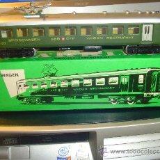 Trenes Escala: MARKLIN. ANTIGUO VAGÓN RESTAURANTE 4016 DE LA SBB. Lote 36292389