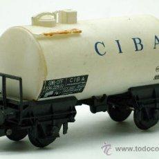 Trenes Escala: VAGÓN CISTERNA CIBA MARKLIN H0. Lote 36440031
