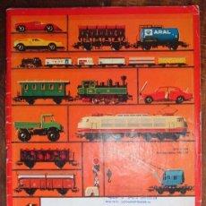 Trenes Escala: RARÍSIMO CATALOGO DE TRENES MARKLIN, DEL AÑO 1972. ORIGINAL DE ALEMANIA. CON CUÑO DE MAINZ. IBERTREN. Lote 36691117
