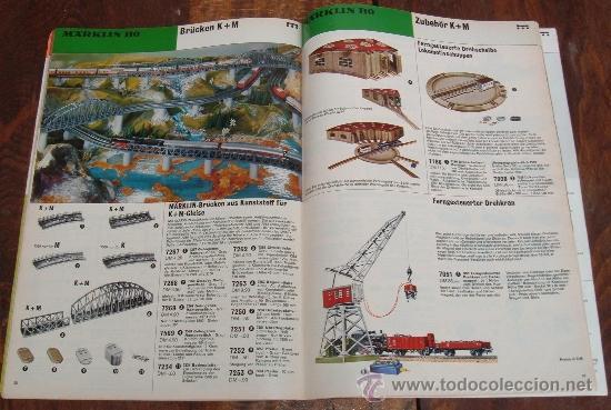 Trenes Escala: Rarísimo catalogo de Trenes Marklin, del año 1972. Original de Alemania. con cuño de Mainz. Ibertren - Foto 3 - 36691117