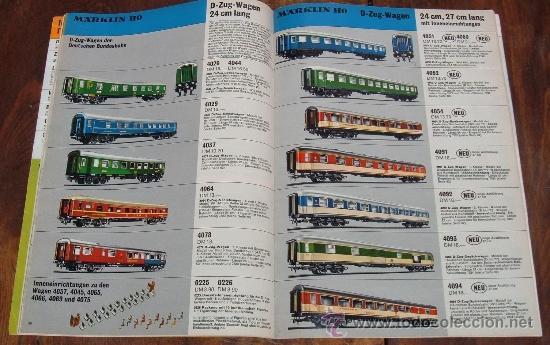 Trenes Escala: Rarísimo catalogo de Trenes Marklin, del año 1972. Original de Alemania. con cuño de Mainz. Ibertren - Foto 4 - 36691117