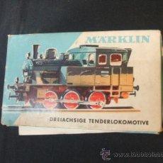 Trenes Escala: MARKILN 3029 - ESCALA H0 - LOCOMOTORA - CON CAJA Y LIBRITO - . Lote 37584954
