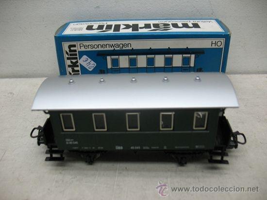 MARKLIN REF: 4007 - VAGÓN DE PASAJEROS DE LA OBB 40 045 - ESCALA H0 (Juguetes - Trenes a Escala - Marklin H0)