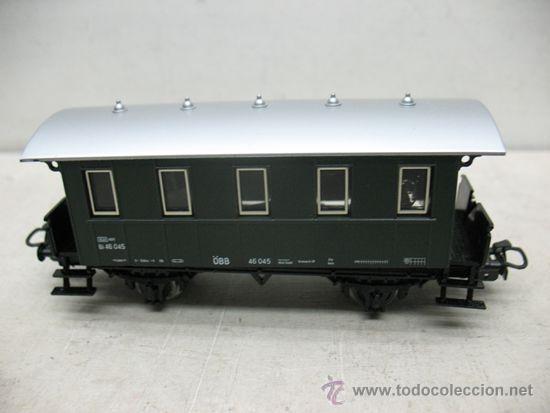 Trenes Escala: Marklin Ref: 4007 - Vagón de pasajeros de la OBB 40 045 - Escala H0 - Foto 2 - 42584083