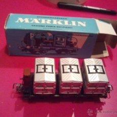 Trenes Escala: VAGON MERCANCIAS MARKLIN H0 . Lote 41028266