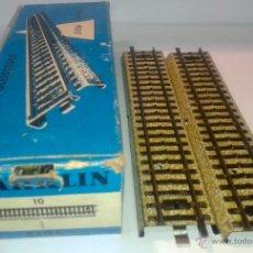 Trenes Escala: CAJA CON 10 VIAS DE TREN MARKLIN - REF.5106 -. Lote 42030447