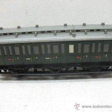 Trenes Escala: MARKLIN - ANTIGUO COCHE DE VIAJEROS 3 - ESCALA H0. Lote 42170281