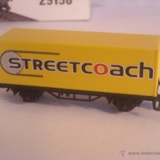 Trenes Escala: MARKLIN ESCALA H0 1:87 VAGON MERCANCIAS CONTAINER STREETCOACH NUEVO. Lote 42868609