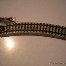 Trenes Escala: UNA VIA CONEXION - CURVA - CON COBLES - MARKLIN -. Lote 42895697