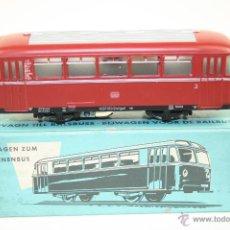 Trenes Escala: MARKLIN - 4018 - REMOLQUE AUTOBÚS - CAJA ORIGINAL - AÑOS 70. Lote 43259900