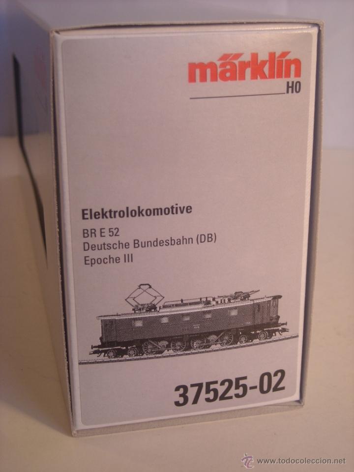 Trenes Escala: Marklin digital escala h0 locomotora BR E52 version verde de la DB ref 37525 - Foto 3 - 44429222