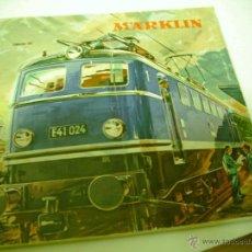 Trenes Escala: ANTIGUO CATALAGO TRENES MARKLIN AÑO 50-60. Lote 47579589